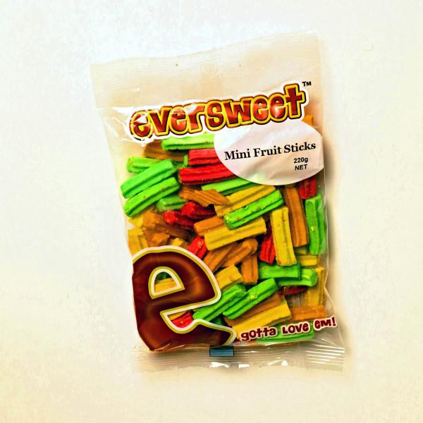 Eversweet Mini Fruit Sticks