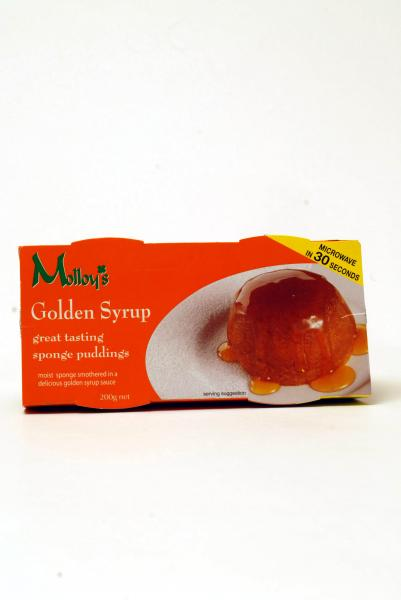 Molloys Sponge Golden Syrup